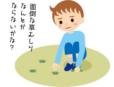 庭の雑草に悩む人必見! 草むしりを徹底的に楽にするポイントは?