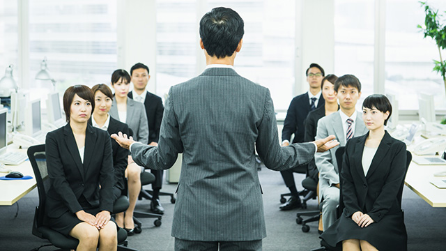 管理職の指導力を向上させたい!